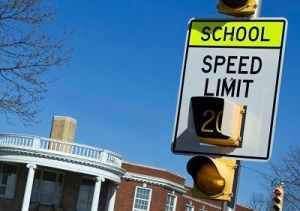 Slow in School Zone