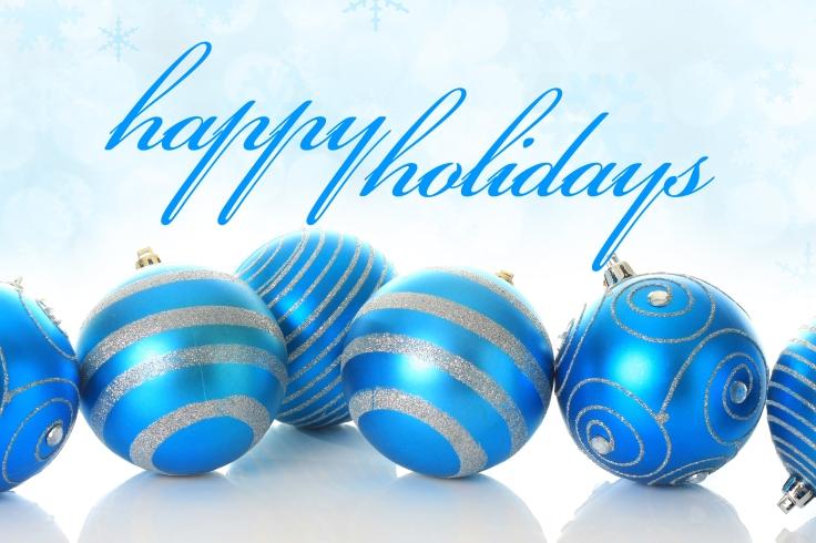 Happy-Holidays-Blue-Christmas-Balls
